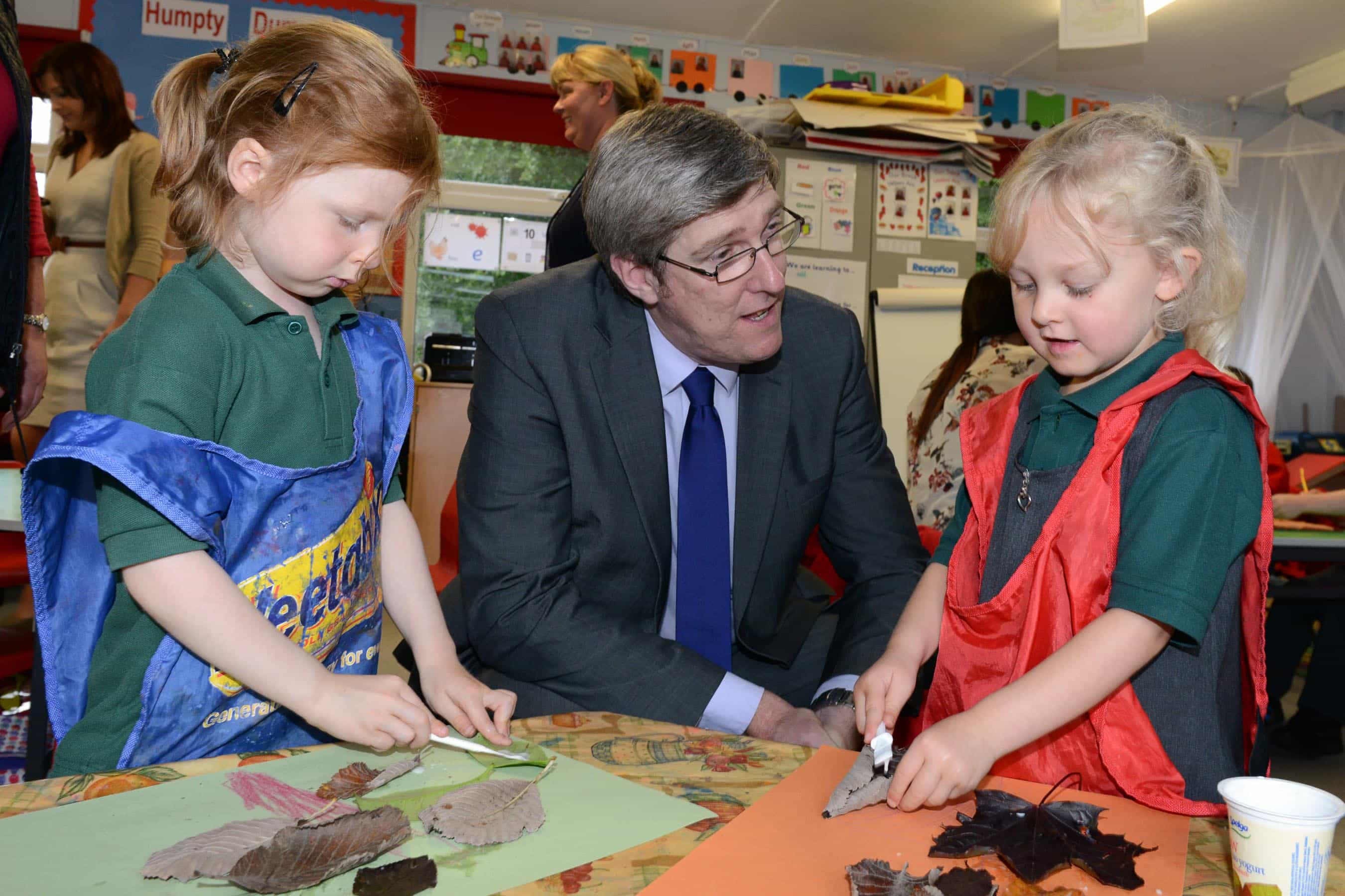 Education_Minister_John_ODowd_visited_Moneynick_and_Duneane_Primary_Schools_-_Photo-David_A_Scott-DAS_1344