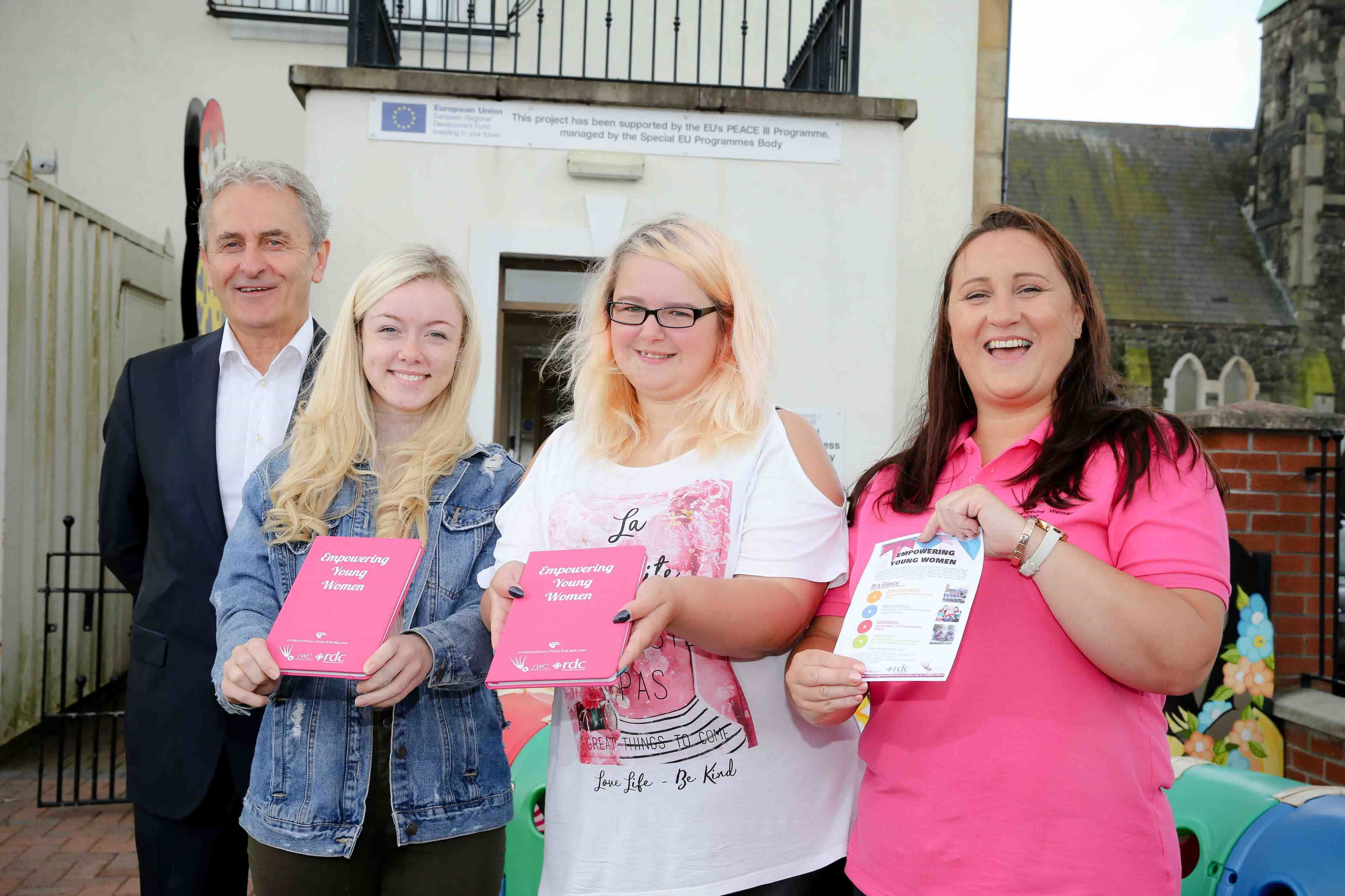 New project offers brighter future for young women in West Belfast