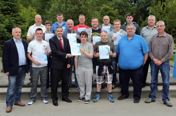 Londonderry Bands Forum presents training certificates