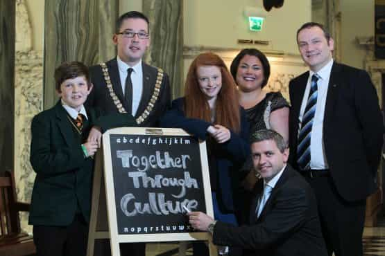 Children invited to learn with the 'Together Through Culture' Project