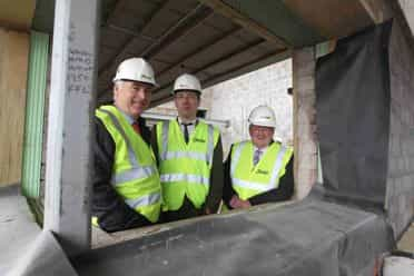 Funders converge to mark milestone in new £2.2M village complex at Corrymeela