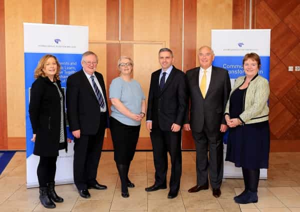 Nine community groups share International Fund for Ireland support