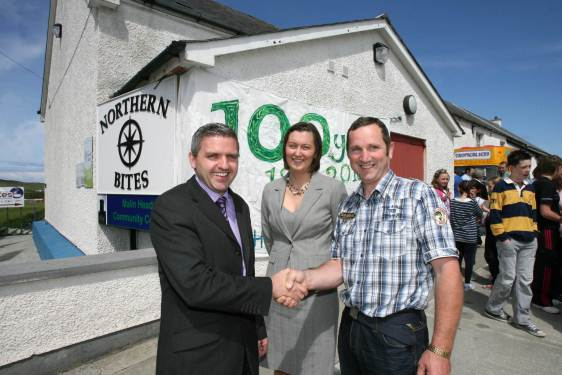 Official launch of Malin Head Community Development Programme