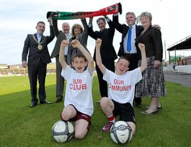 Glentoran launches Our Club, Our Community Programme