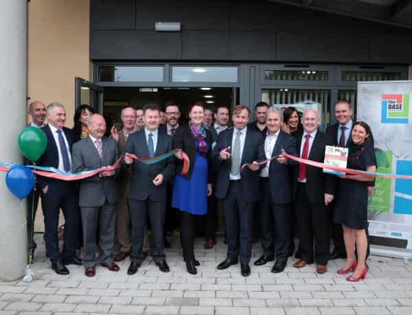 Official opening of The Base Enterprise Centre for Finn Valley and cross-border area