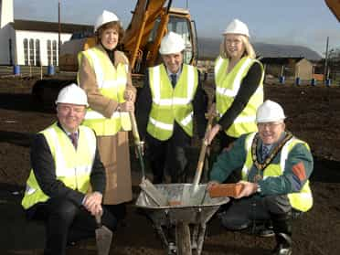 Work starts on £1.2m centre in Monkstown