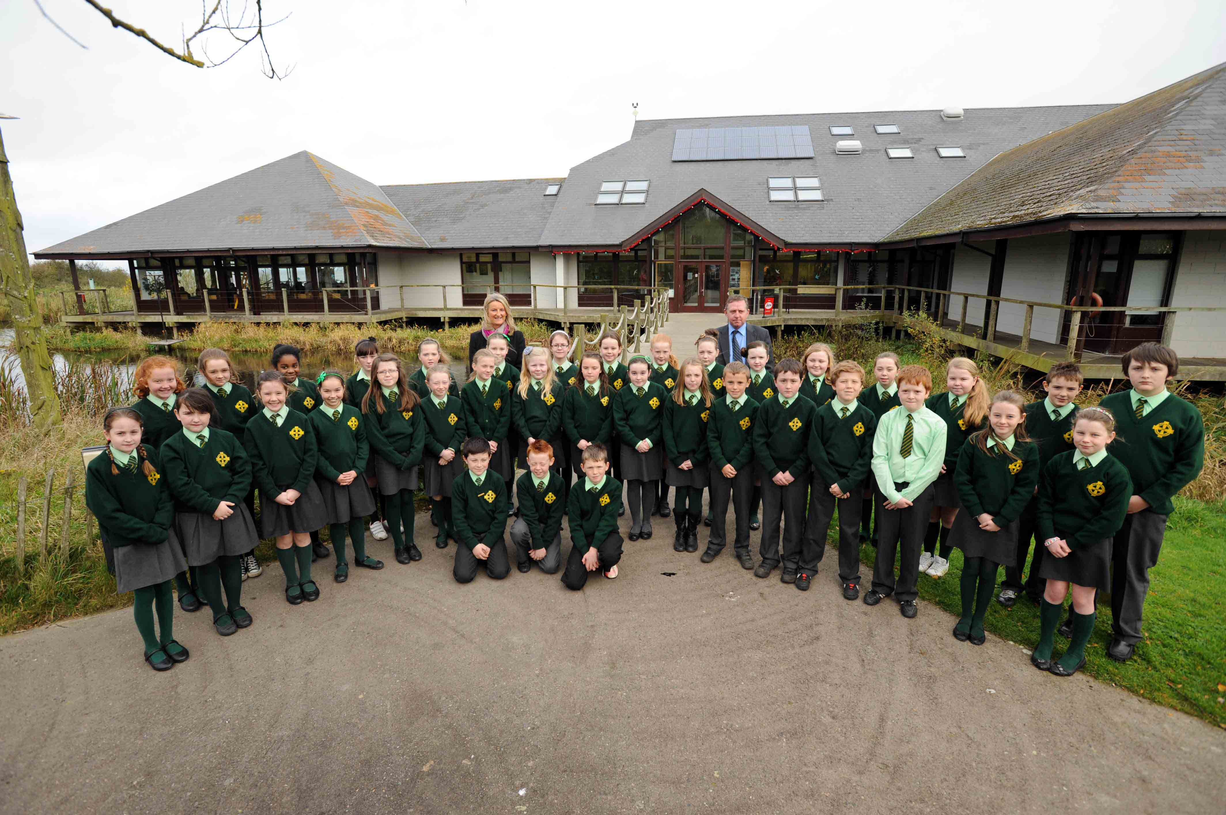 Pupils gather for Welcoming Schools Fair