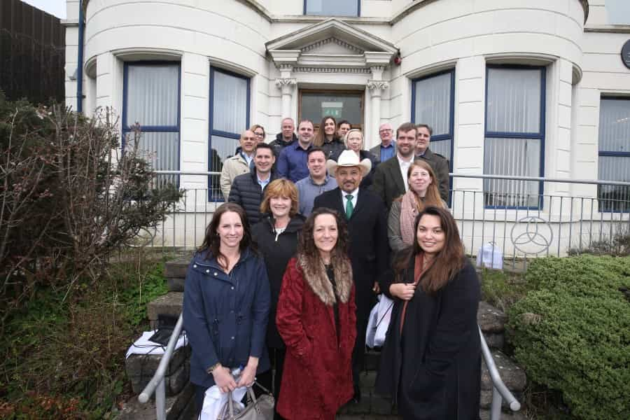US senior staffers engage with Belfast community workers