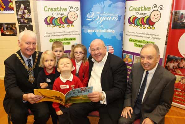 'Triangle' schools celebrate first year of creative shared education project