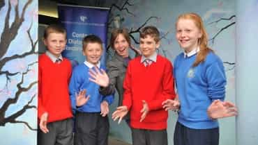 'Together in Creativity' – Ballybay Pupils Celebrate a Shared Natural Heritage