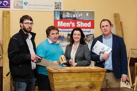 Celebration event to mark success of CLASP Men's Shed Sligo