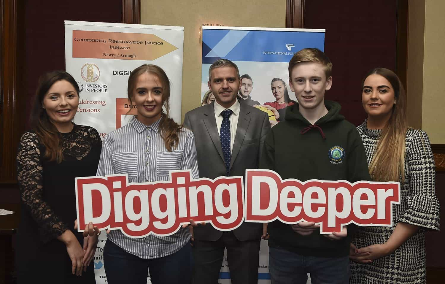 Young people get in gear for safer driving and community leadership in Newry/Armagh