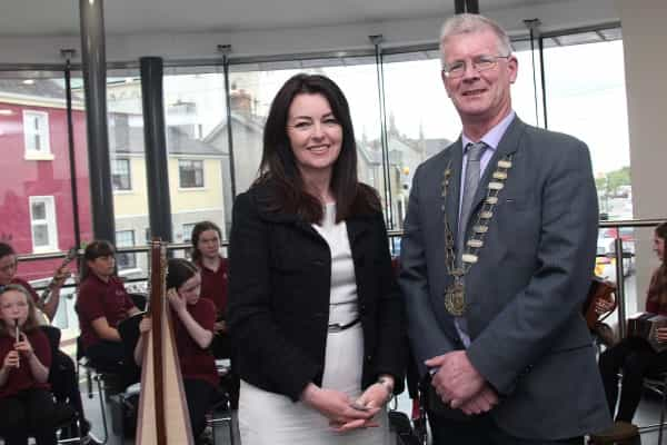 Official opening of Belturbet Community Town Hall