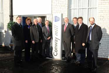 Opening of Conway Mill