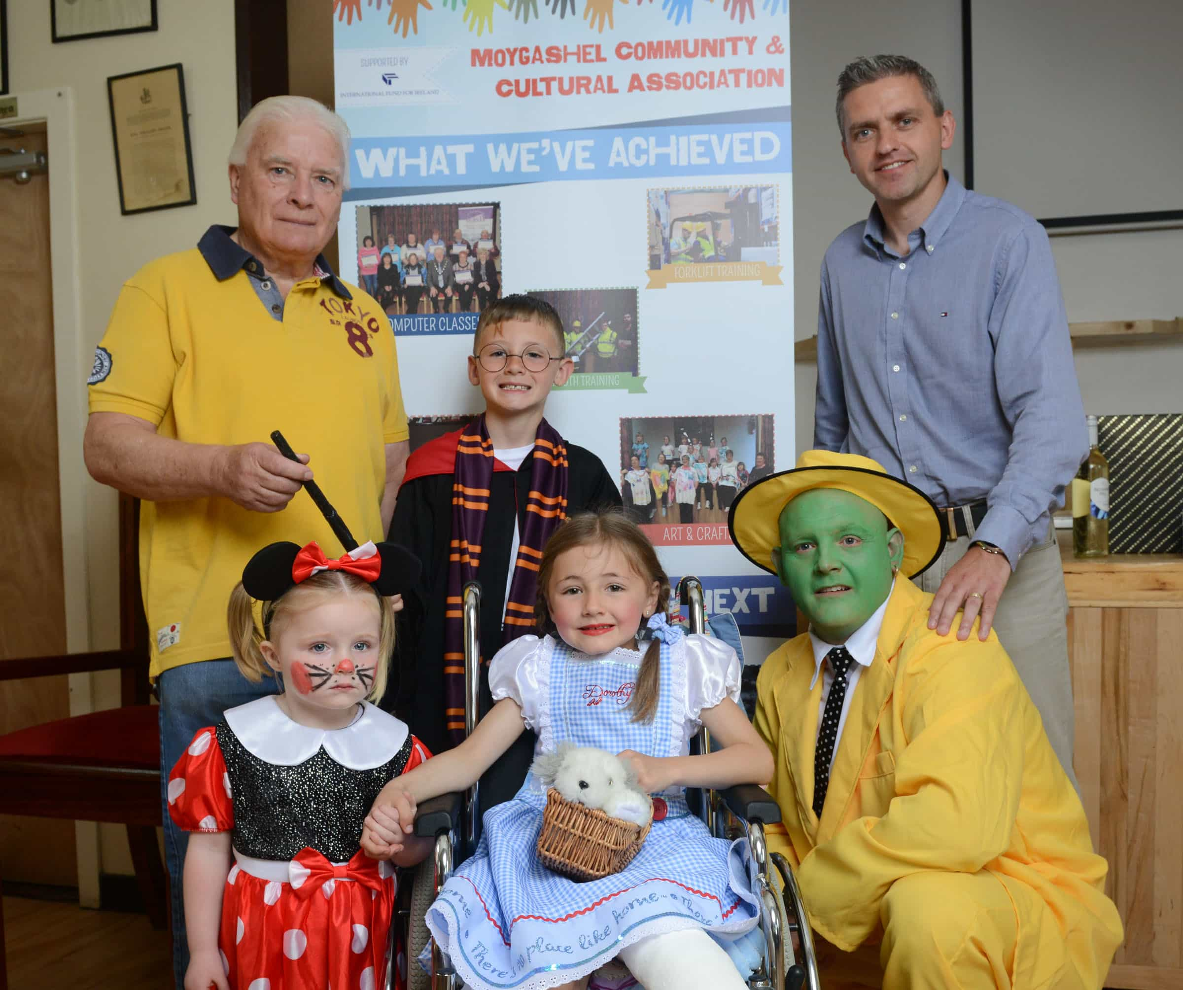 Community project paints a brighter future for Moygashel