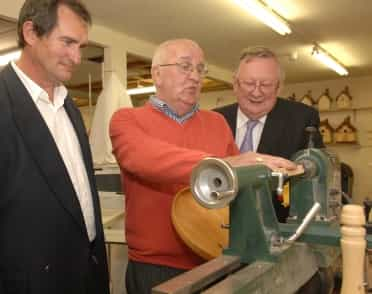 Official opening of Drogheda Men's Shed Project