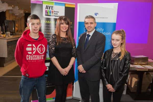 Strabane young people say 'AYE' to a brighter future