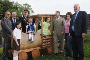 Claudy Play Area officially opens