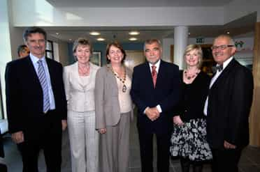 President of Croatia visits International Fund for Ireland and Youthaction Northern Ireland to learn about peace building