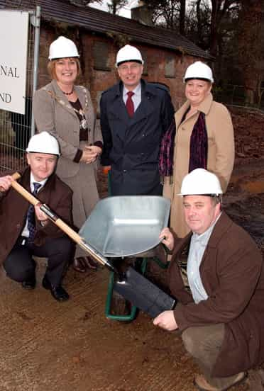 Major project to boost employment gets underway in Cushendall