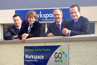 New extension to business center in Draperstown launched