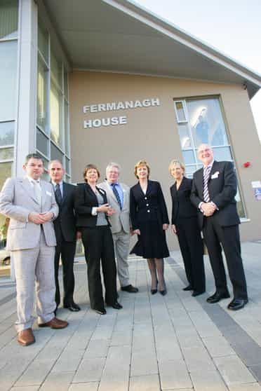 President Mcalesse opens community networking centre in Enniskillen