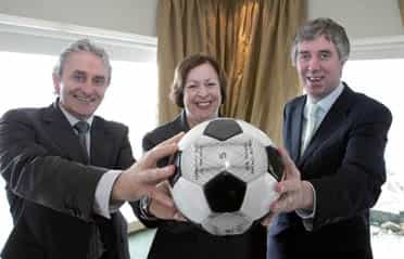 Football for Peace programme launched in Donegal