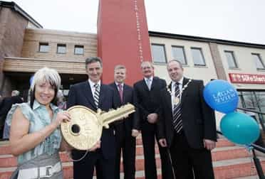 £1.1 Million Community and Enterprise Center officially opened in Lisburn