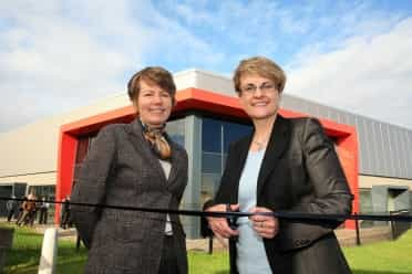 Ritchie opens £900,000 business centre in Clady, Portglenone
